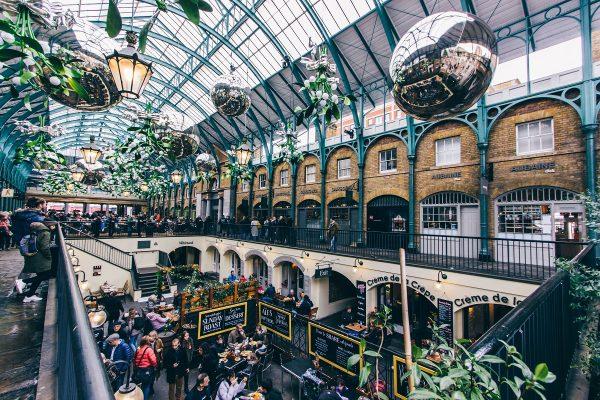 L'intérieur du Covent Garden à Londres