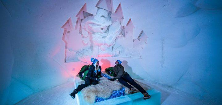 Dormir dans un igloo dans le Snow Hotel à Kemi en Laponie