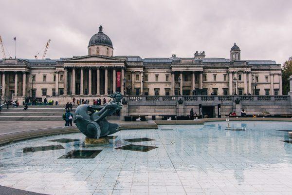 Trafalgar Square à Londres