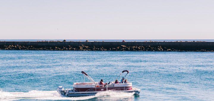 Le bateau de l'excursion dans la Ria Formosa