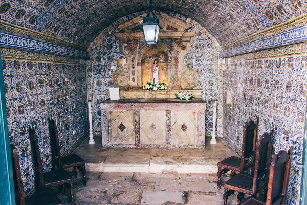 La chapelle dans le fort de Lagos