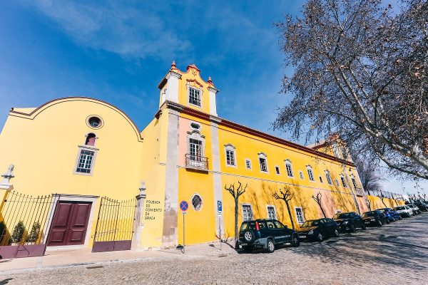 L'ancien couvent de Tavira