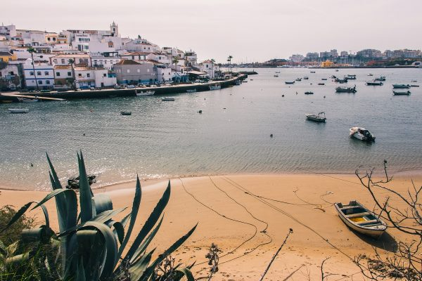 Ferragudo en Algarve