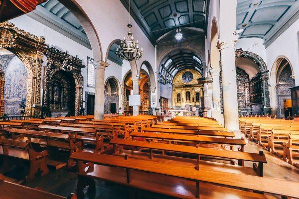 L'intérieur de la cathédrale de Faro