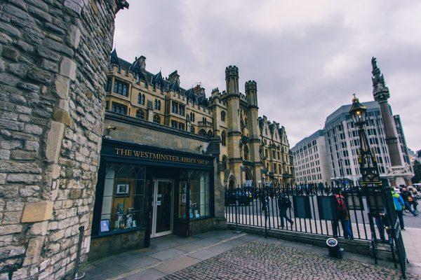 Boutique de souvenirs de l'abbaye de Westminster