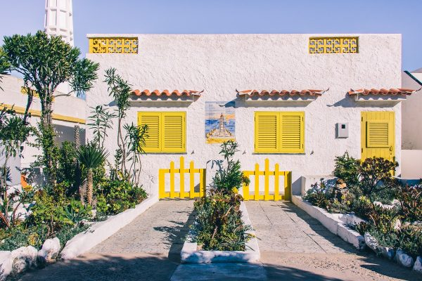 Maison colorée sur l'île de Farol
