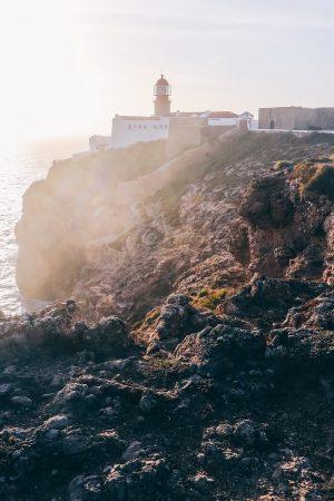 Le phare du Cap de Saint Vincent au Portugal