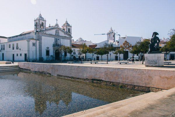 L'église Santa Maria de Lagos