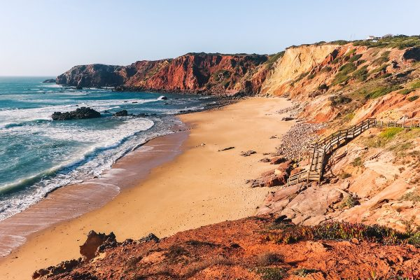 La plage do Amado en Algarve