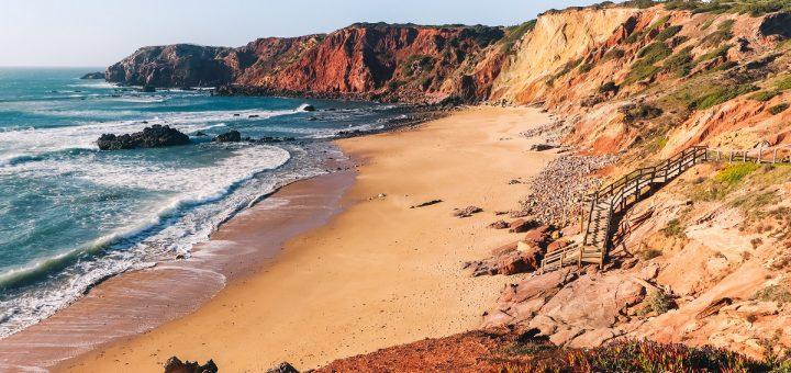 La plage do Amado en Algarve