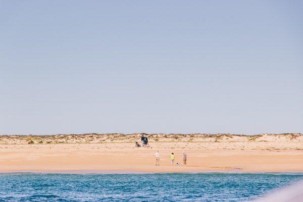 La plage de l'ilha Deserta