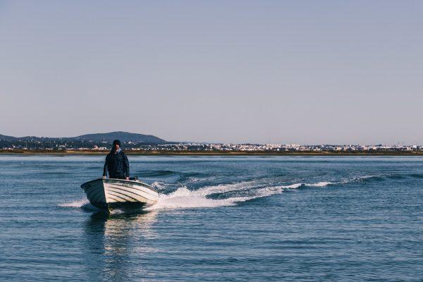 Bateau de pêche dans la Ria Formosa