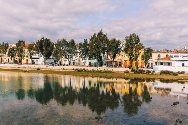La rivière Gilhao à Tavira