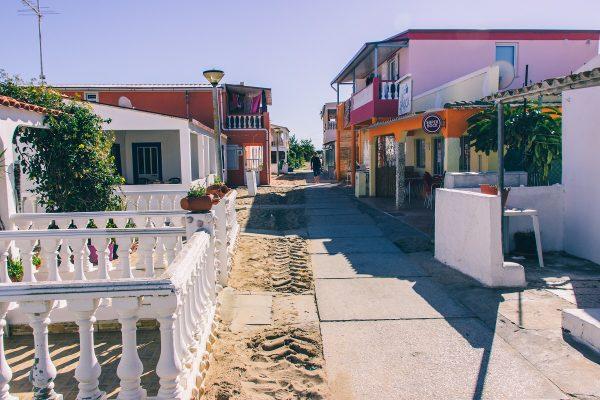 Une ruelle sur l'ilha Culatra