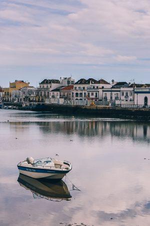 Le port de pêche de Tavira
