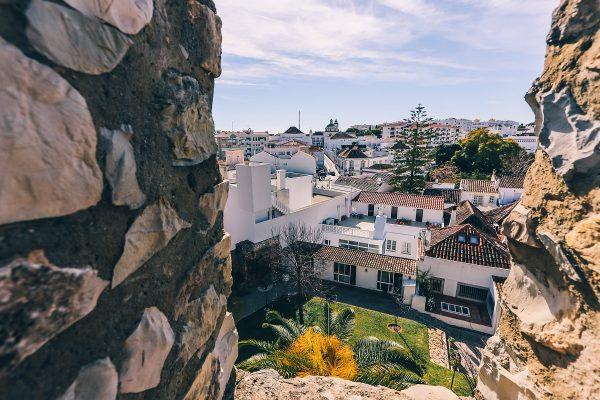 La vue depuis le château de Tavira