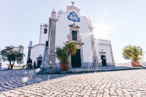 L'église d'Almancil en Algarve