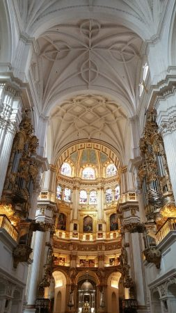 Intérieur de la cathédrale de Grenade