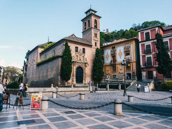 La plaza Nueva à Grenade
