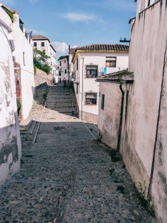 Quartier du Sacromonte à Grenade