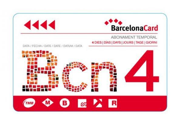 La Barcelona Card de 4 jours