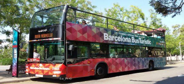 Bus touristique à arrêts multiples de Barcelone
