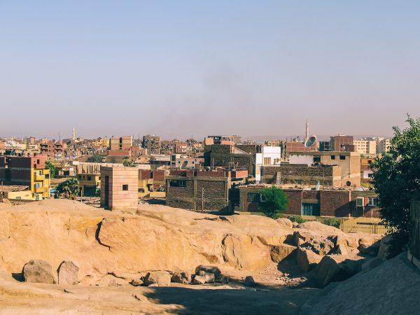 Le centre-ville d'Assouan
