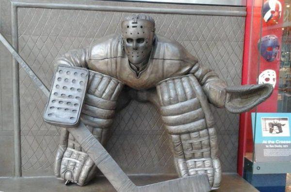Dans le musée du Hockey Hall of Fame de Toronto
