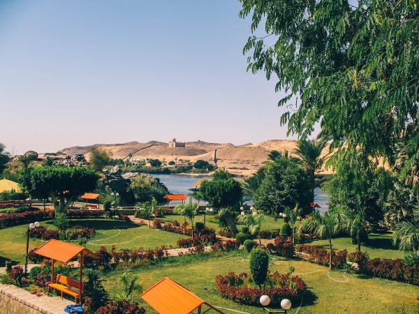 L'île Kitchener et son jardin botanique à Assouan