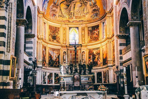Intérieur de la cathédrale de Pise