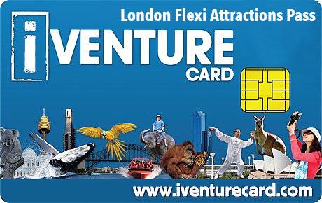 Carte iVenture Londres
