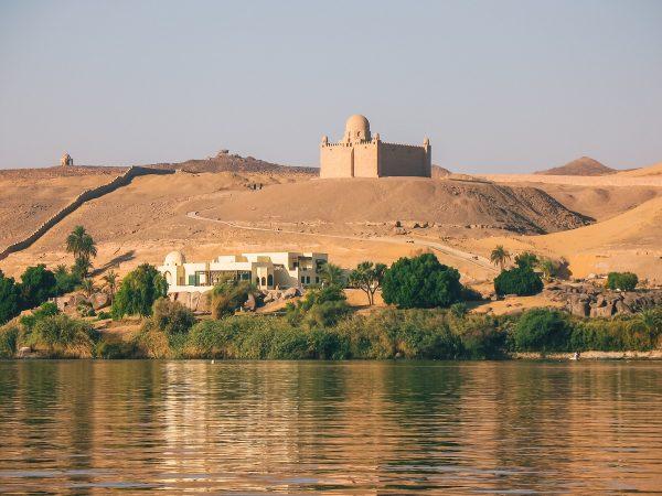 Le mausolée de l'Aga Khan à Assouan