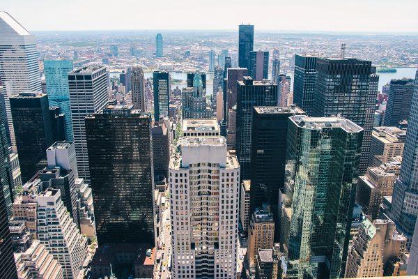 Un des panoramas sur Manhattan depuis le Top of the Rock