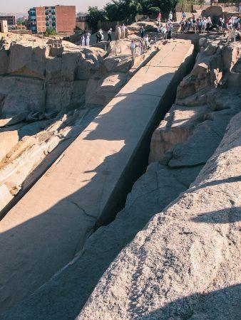 L'obélisque inachevé à visiter à Assouan