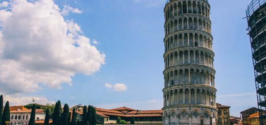 Visite de la tour de Pise