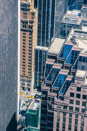 Vue sur les rues de New-York depuis le Top of the Rock