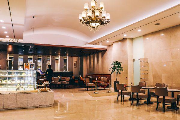 Hall de l'hôtel President de Séoul