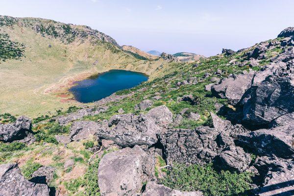 Cratère du volcan Hallasan