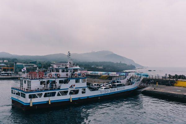 Ferry pour l'île d'Udo depuis Jeju