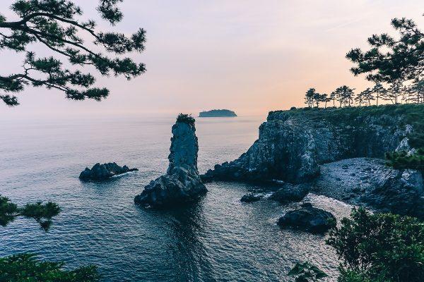 Le rocher Oedolgae à Jeju