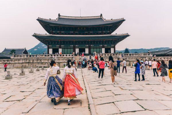 La visite du palais Gyeongbokgung à Séoul
