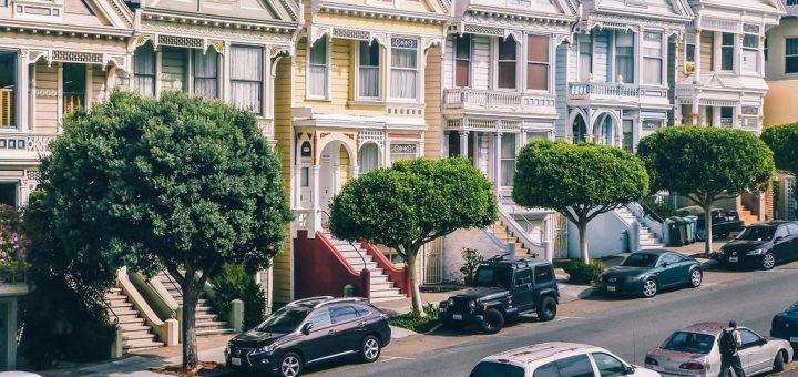 Les Seven Painted Ladies à San Francisco