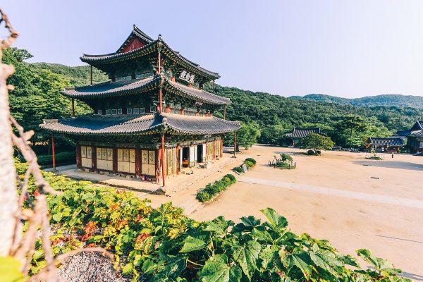 Temple de Geumsansa en Corée du sud