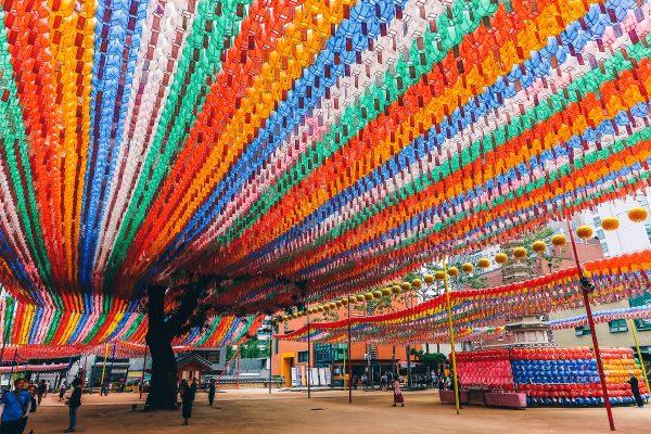 Temple Jogyesa à Séoul