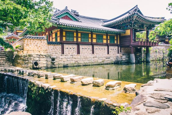 Temple de Songgwangsa en Corée du sud