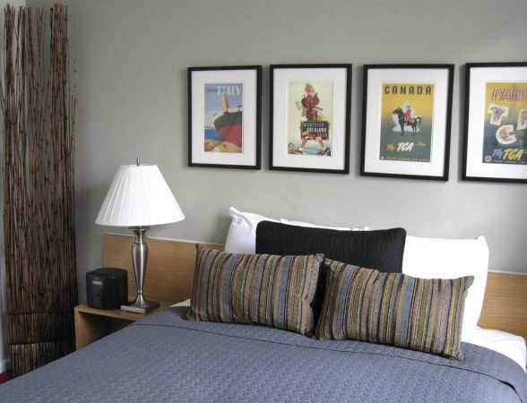 Une chambre du Touchstone Hotel à San Francisco