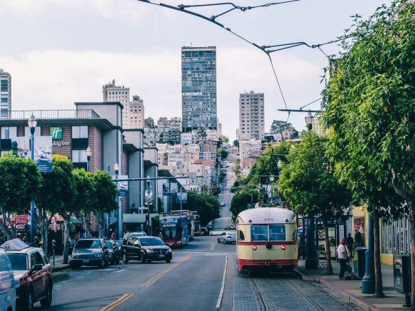 Tramway dans San Francisco