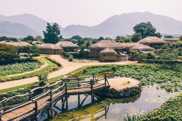 Village traditionnel de Nagan Eupseong en Corée du sud