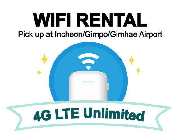 Location d'un routeur wifi à Séoul