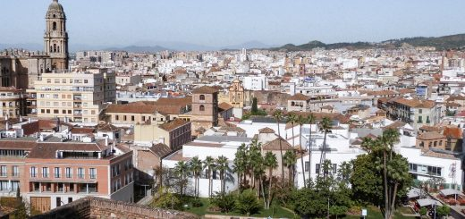 Malaga : ville où dormir en Andalousie